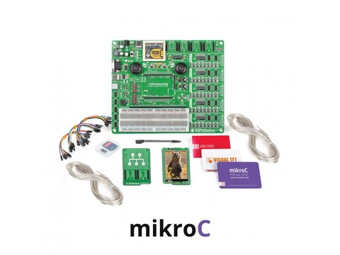Mikroe mikroLAB for mikromedia - dsPIC33EP - mikroBasic