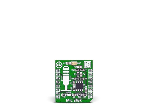 Mikroe Mic click - SPQ0410HR5H-B Surface Mount Silicon Microphone Module