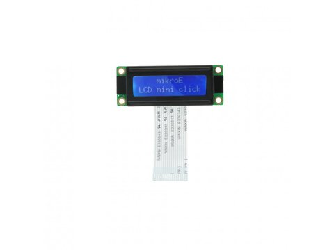 Mikroe LCD mini display