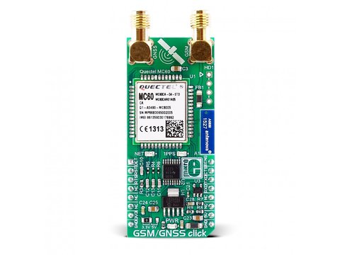 Mikroe GSM/GNSS click