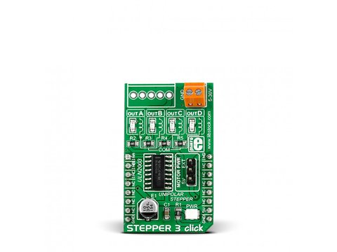 Mikroe Stepper 3 click