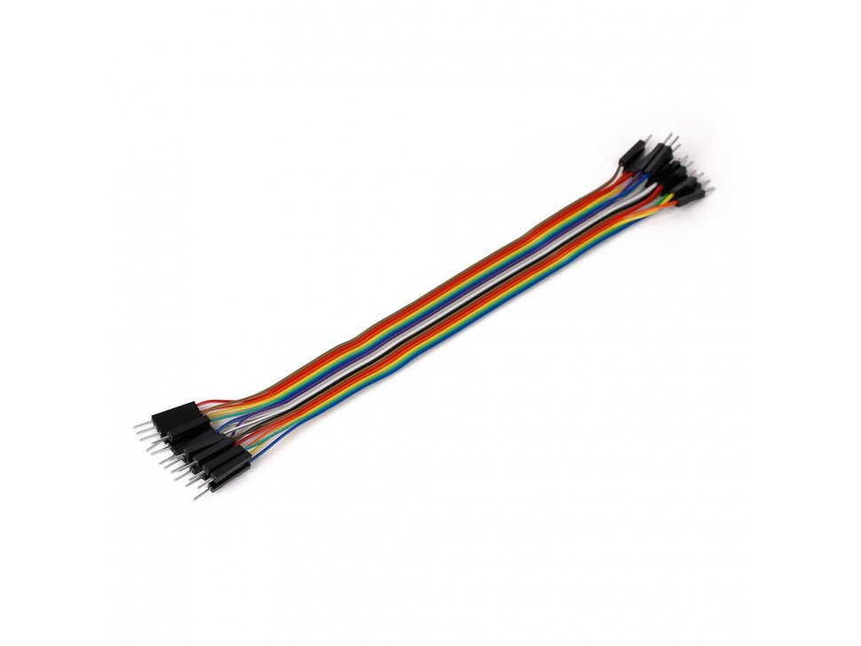 Mikroe ribbon cable 16 wire male slash male 3886571758