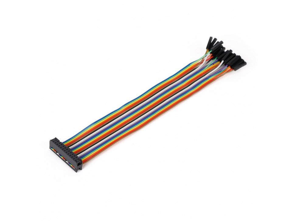Mikroe ribbon cable 26 wire female idc slash 6212110745