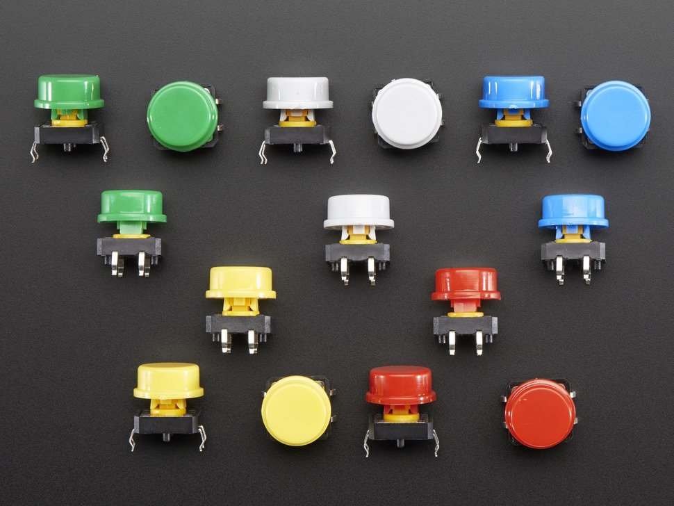 Colorful round tactile button switch ass 6662047206