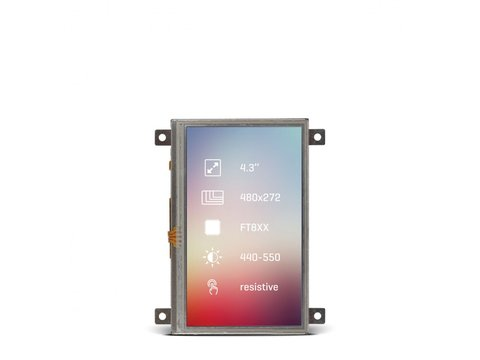 "Mikroe Riverdi Display 4.3"" Res"