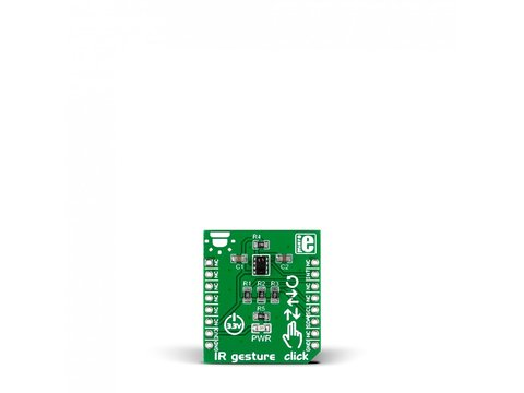 Mikroe IR Gesture click - Contactless Gesture Recognition Module - APDS-9960
