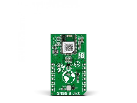 Mikroe GNSS3 click
