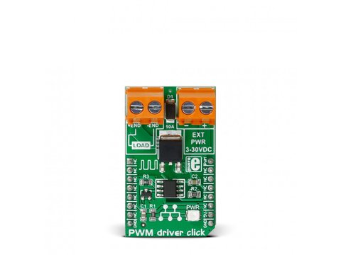 Mikroe PWM driver click - 10A DC Motor PWM Driver