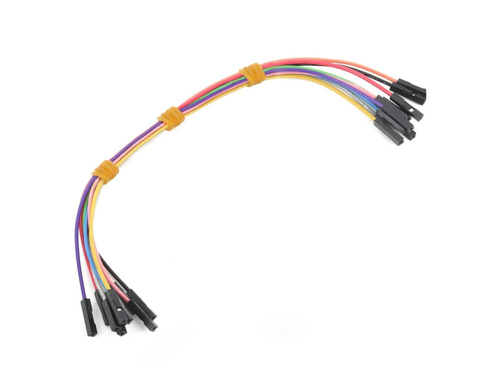 Mikroe wire jumpers female to female 30 6160152808