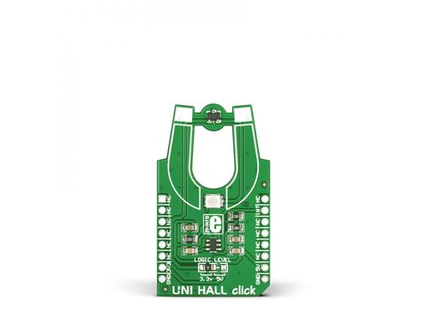 Mikroe UNI HALL click - US5881 unipolar Hall-Effect Switch