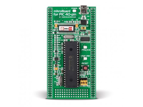 Mikroe mikroBoard for PIC 40-pin with PIC18F4520