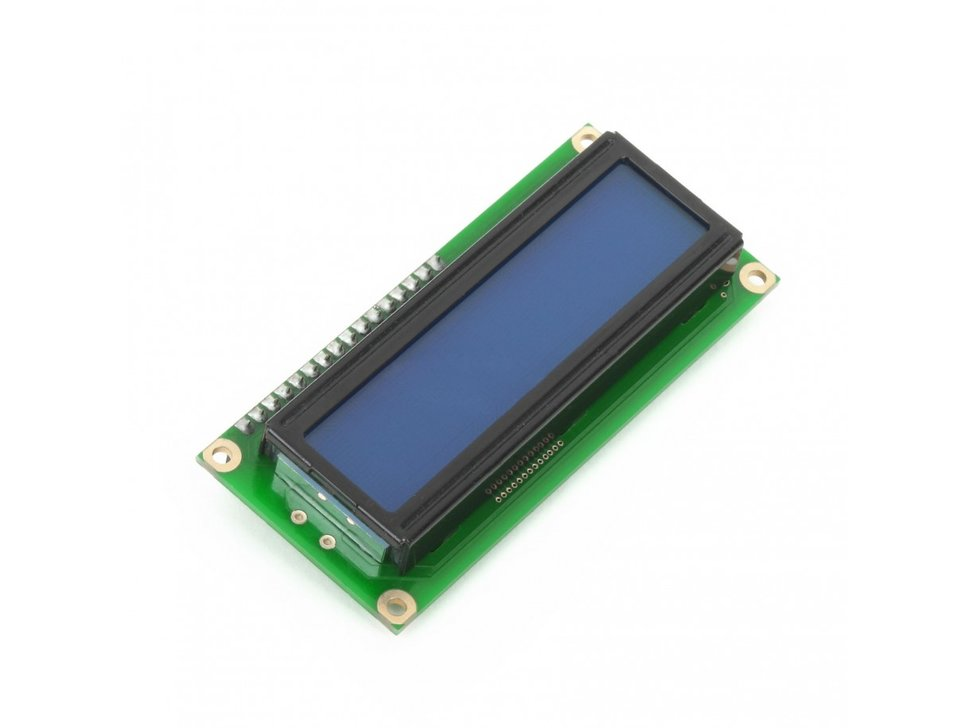 Mikroe character lcd 2x16 with blue back 1038452176