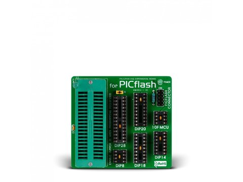 Mikroe PICFlash Experimental Board
