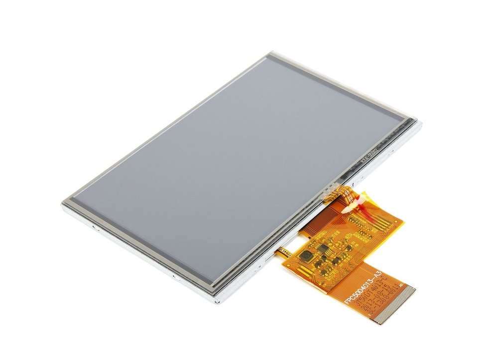 Mikroe tft color display with touch scre 8101701212