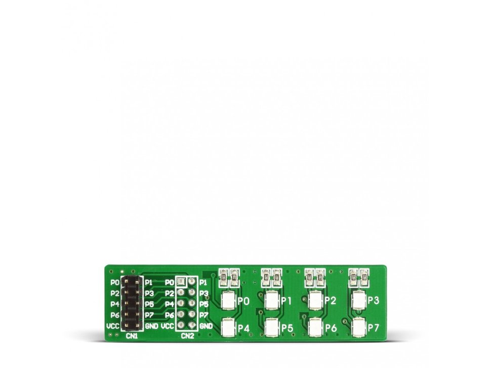Mikroe easyled board with red diodes 417050334