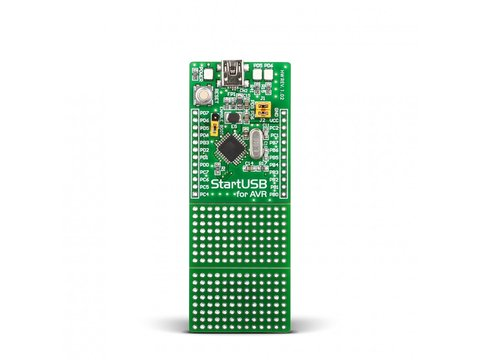 Mikroe StartUSB for AVR - Development Board 2ith Atmel AT90USB162