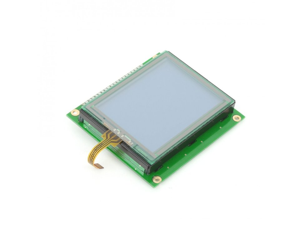 Mikroe graphic lcd 128x64 with touchpane 5053387307