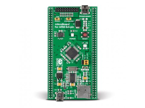 Mikroe mikroBoard for ARM 64-pin
