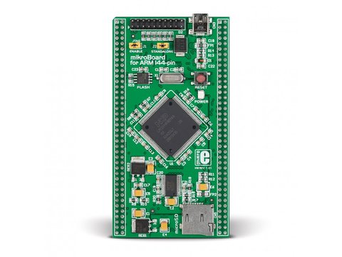 Mikroe mikroBoard for ARM 144-pin - LPC2214 microcontroller