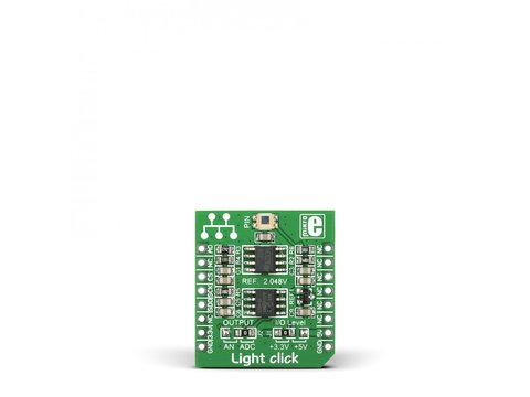 Mikroe Light click - PD15-22CTR8 Ambient Light Sensor