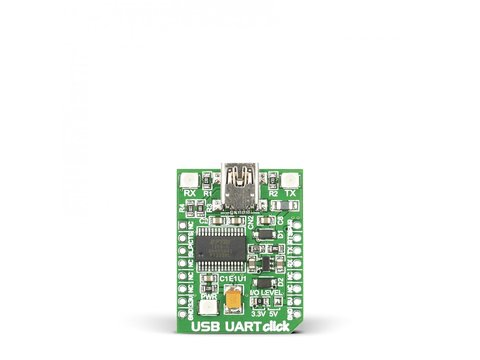 Mikroe USB UART click - FT232RL USB to UART Interface Module