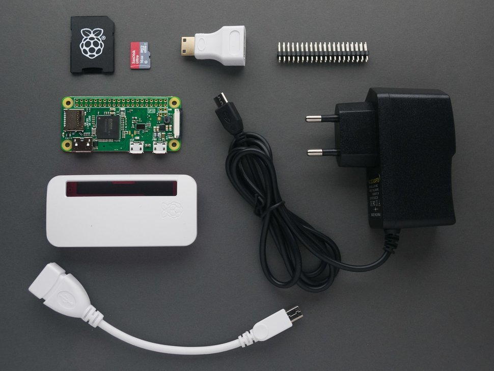 Raspberry pi zero starter kit 1
