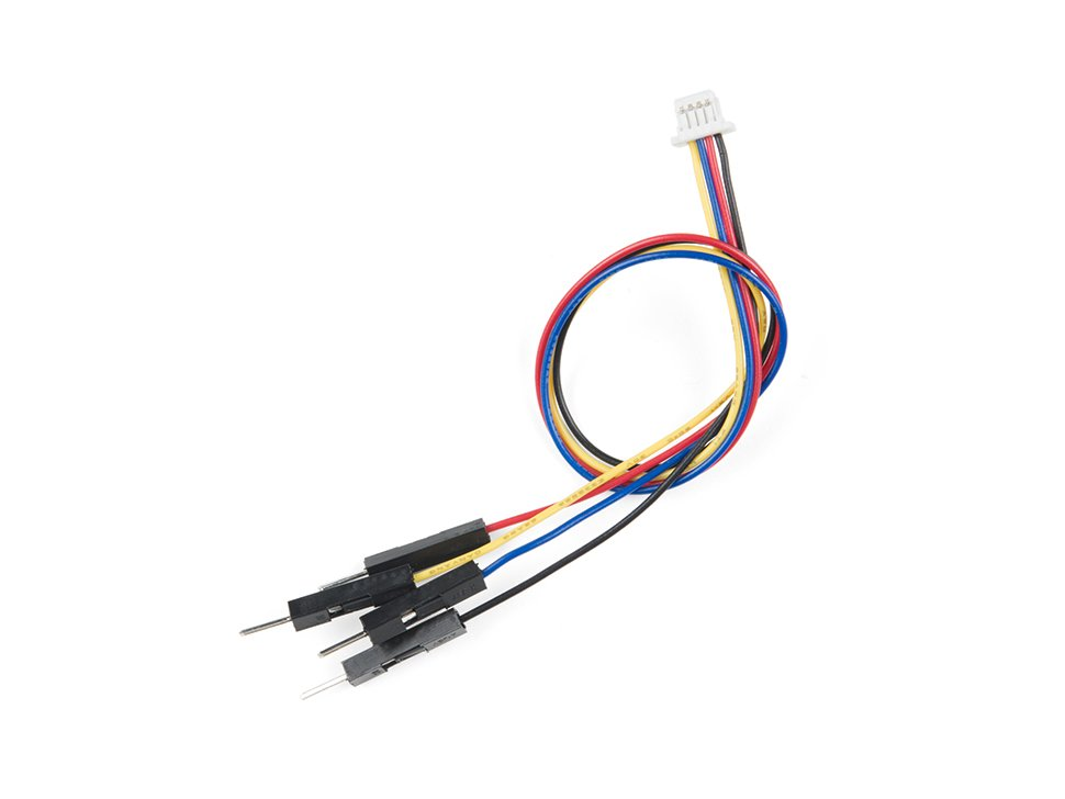 Qwiic cable breadboard jumper 4 pin 1