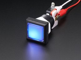 Led illuminated pushbutton 30mm square 8719148994