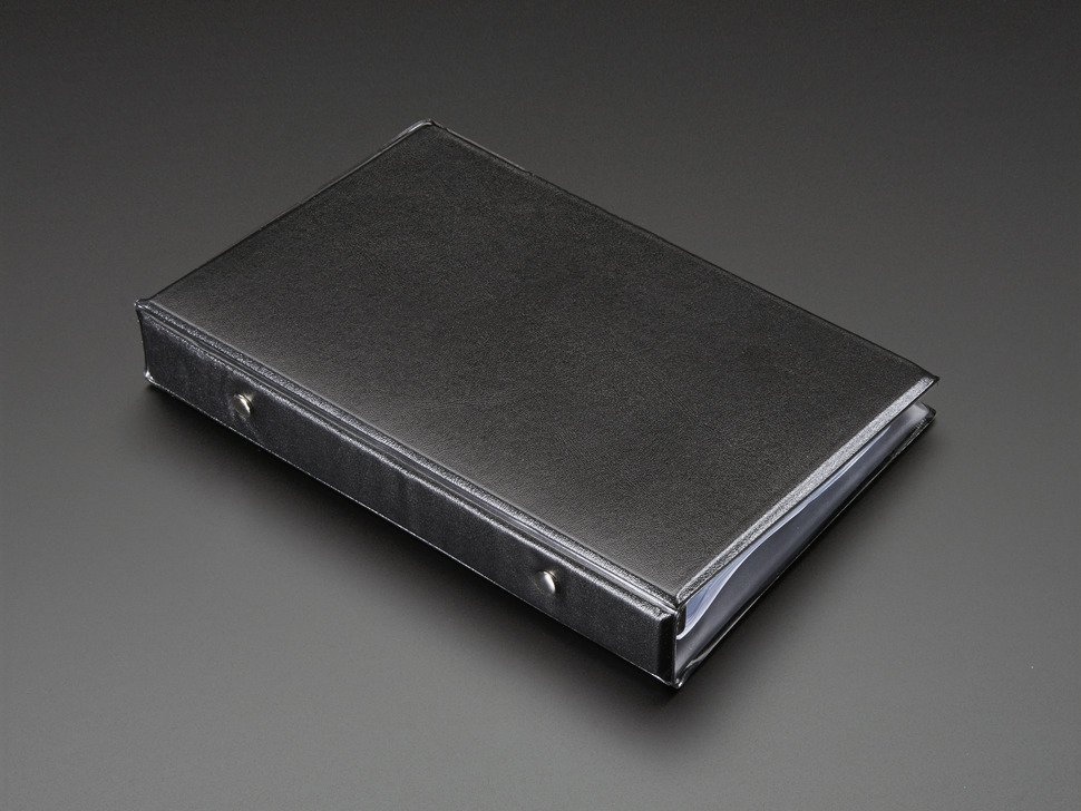 Blank smt storage book 20 pages 1066263915