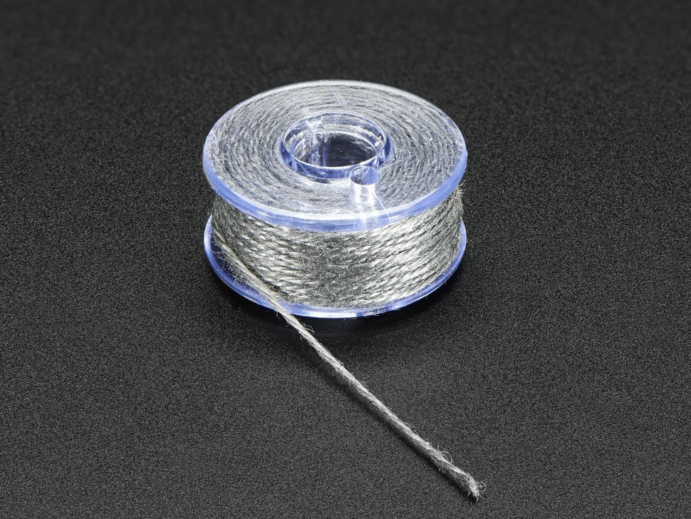 Stainless thin conductive yarn slash thick c 8361593076