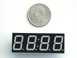 Red 7 segment clock display 0 dot 56 digi 3396578791