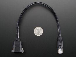 Panel mount ethernet extension cable 5782704210