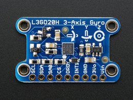 L3GD20H Triple-Axis Gyro Breakout Board - L3GD20/L3G4200 Upgrade - L3GD20H