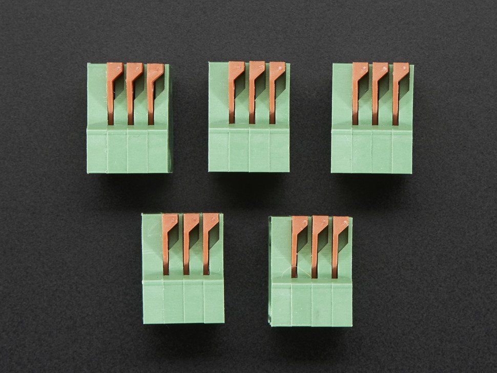 Configurable spring terminal blocks 3 6114935476