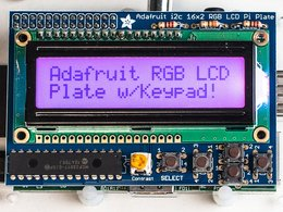 Adafruit rgb positive 16x2 lcd plus keypad ki 2862258921