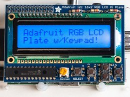 Adafruit rgb positive 16x2 lcd plus keypad ki 9526466566
