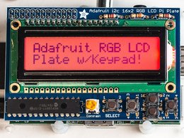 Adafruit rgb positive 16x2 lcd plus keypad ki 9717521601
