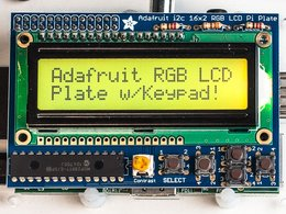 Adafruit rgb positive 16x2 lcd plus keypad ki 2187392662