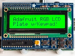 Adafruit rgb positive 16x2 lcd plus keypad ki 1615783711