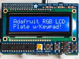 Adafruit rgb negative 16x2 lcd plus keypad ki 5335990948