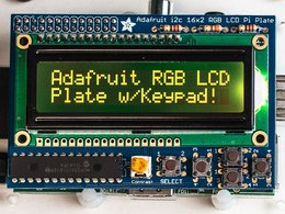 Adafruit rgb negative 16x2 lcd plus keypad ki 4111306953