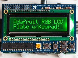 Adafruit rgb negative 16x2 lcd plus keypad ki 5520566205