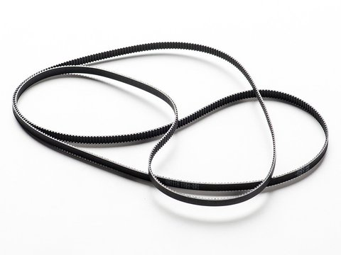 Timing Belt GT2 Profile - 2mm pitch - 6mm wide 1164mm long