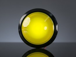 Massive Arcade Button with LED - 100mm Yellow