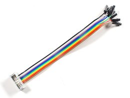 10-pin IDC Socket Rainbow Breakout Cable