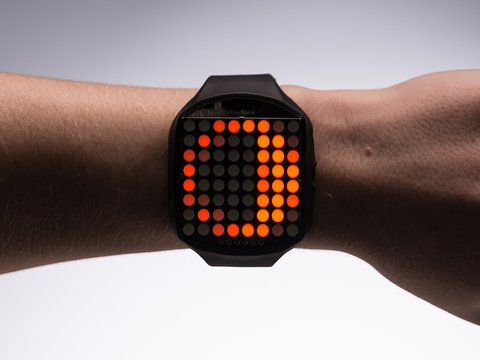 TIMESQUARE DIY Watch Kit - Tangerine Display Matrix
