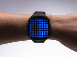 TIMESQUARE DIY Watch Kit - Blue Display Matrix