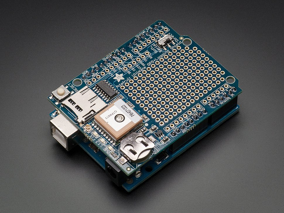 Adafruit ultimate gps logger shield in 3512163519
