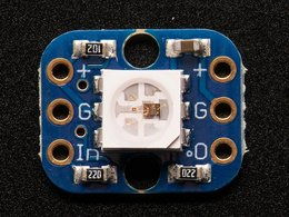 Breadboard friendly rgb smart neopixel 8442019846