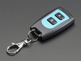 Keyfob 2-Button RF Remote Control - 315MHz